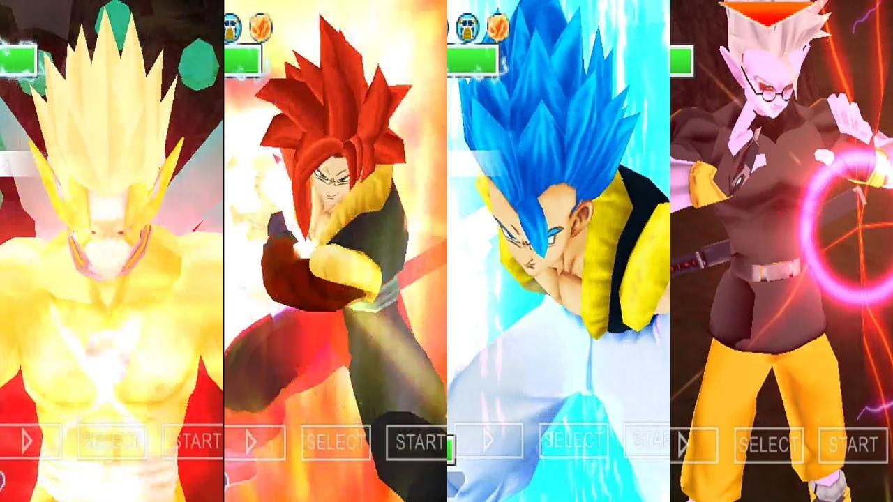 Dragon Ball Heroes Gogeta Vs Fu