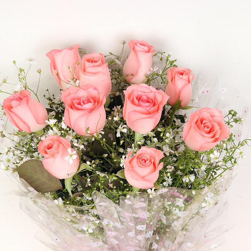 gambar bunga mawar peach indah