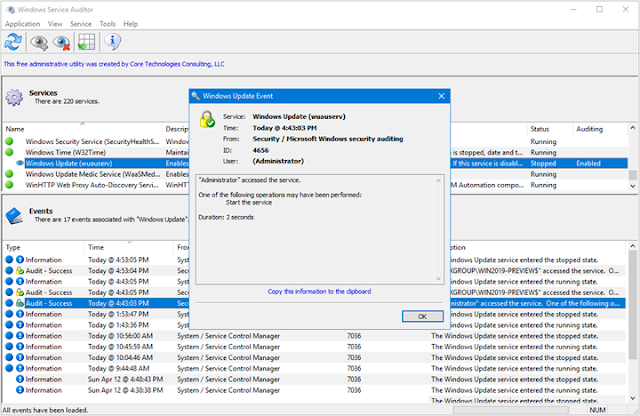 Cómo auditar los servicios de Windows 10