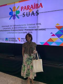 A secretária de Assistência Social de Município de Cuitegi , Delma Amorim concedê entrevista a Rádio Constelação FM