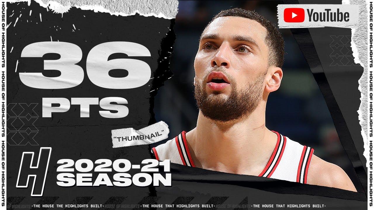 Zach LaVine 36pts 8ast vs NOP   March 3, 2021   2020-21 NBA Season