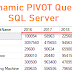 SQL Server | How to Create Dynamic PIVOT Query