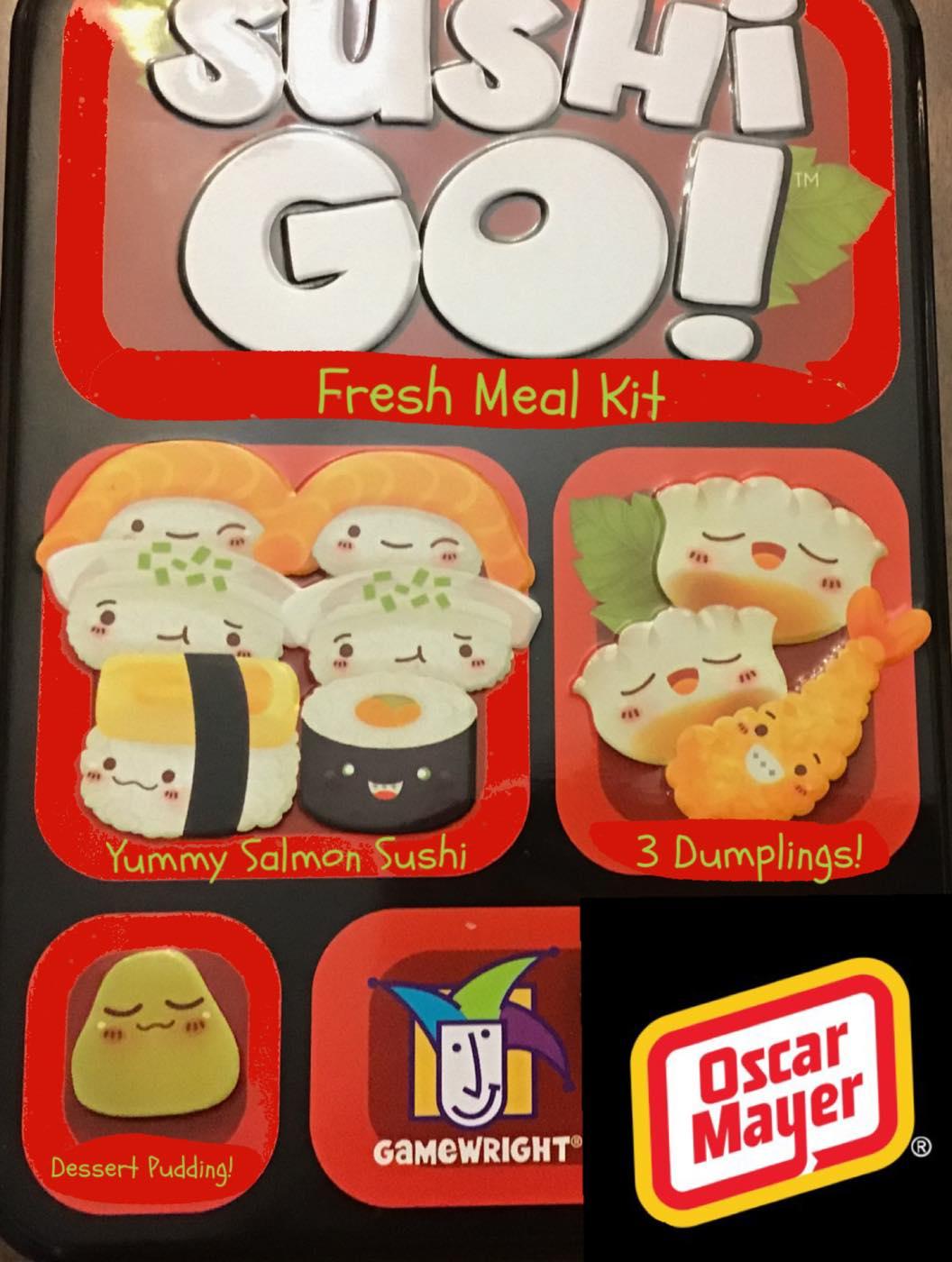 Sushi Go Meal Kit announced