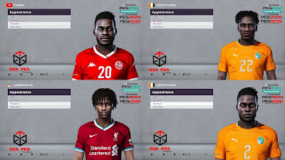 PES 2020 Facepack 3 by Dzayer Pes