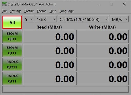 Hướng dẫn cách sử dụng phần mềm CrystalDiskMark đơn giản b