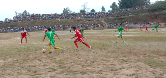 Army Red wins Kanchanjungha Football Club