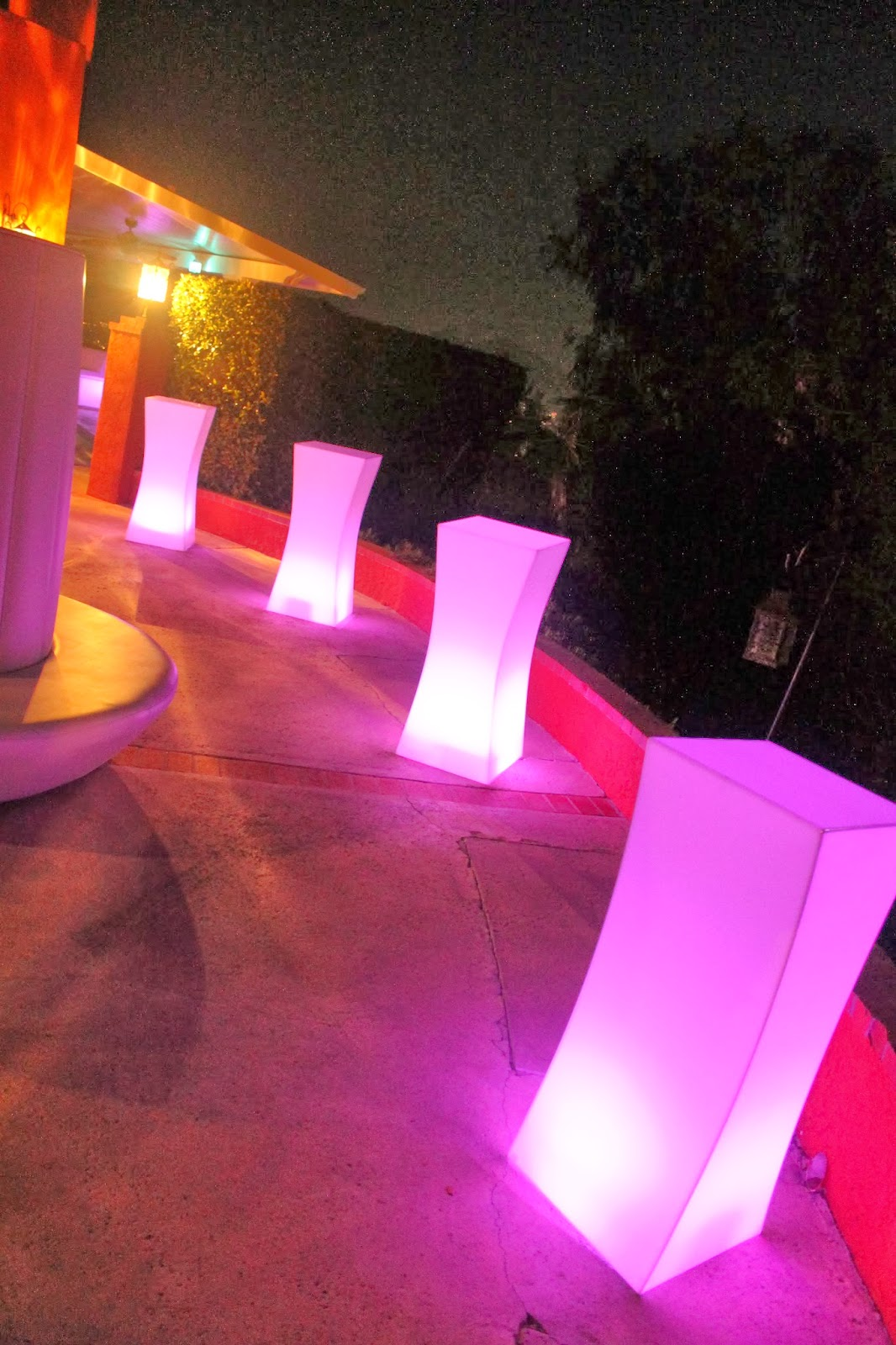 New Light Of Myanmar Daily Journal: Orange County Party Rentals: New LED Light Furniture