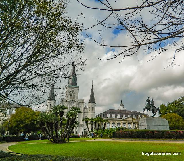 Jackson Square, Centro Histórico de Nova Orleans