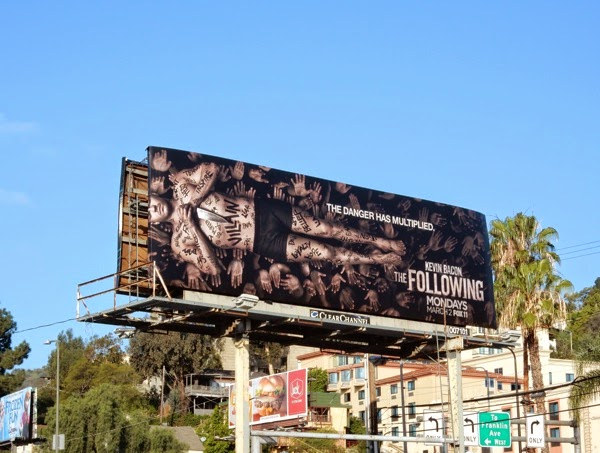 The Following season 3 Villain billboard
