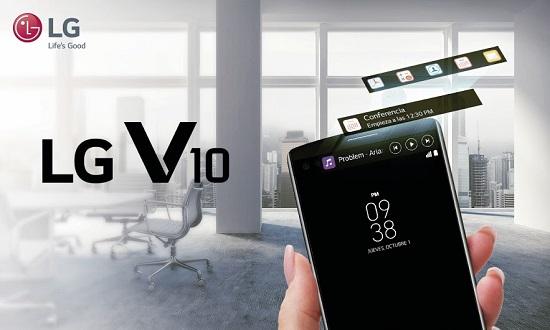 LG V10 Y SU DOBLE PANTALLA