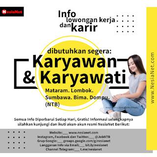 Info Lowongan Kerja dan Karir
