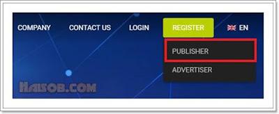 Cara daftar dan pasang iklan Propeller Ads Media ke Blog 2