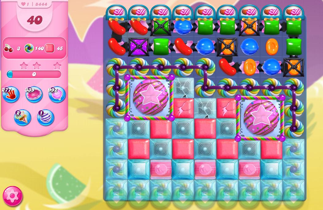 Candy Crush Saga level 8444