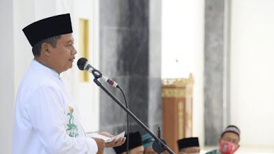 Panglima Santri Jawa Barat Safari Ramadhan, Kunjungi Masjid Al Jabbar Kalipucang di Pangandaran