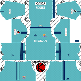 Yokohama F. Marinos 横浜F・マリノス kits 2018 - Dream League Soccer Kits