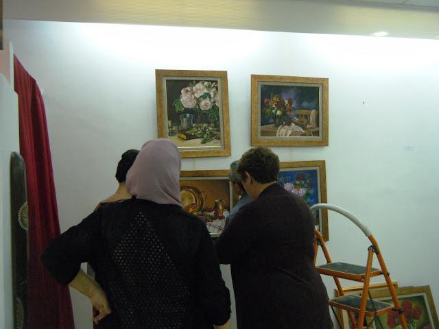 Préparatifs de l'expo de l'atelier artémisia 6