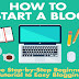 How To Start A New Blog #infographic