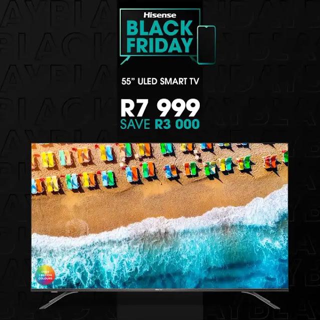 Hisense 55-inch 4K ULED – B8000 TV