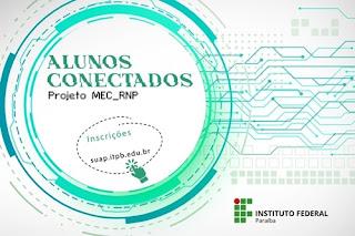 PRAE informa sobre projeto Alunos Conectados. Chips devem chegar ao IFPB até 29 de janeiro