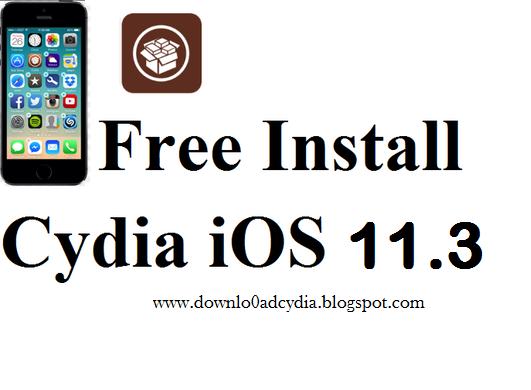 install cydia iOS 10 3 2 To iOS 11 2, 11 3 jailbreak
