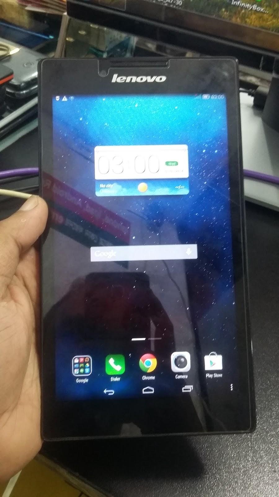 Lenovo Tab 2 A7 30hc Death Phone Hang Logo Lcd Blank Camera Fix Tab2 Virus Clean Done Original Fiirmware 10000tested