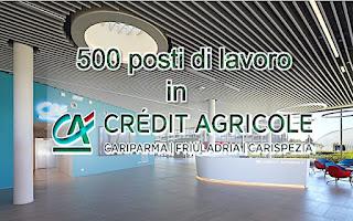 Credit Agricole, 500 posti di lavoro - adessolavoro.blogspot.com
