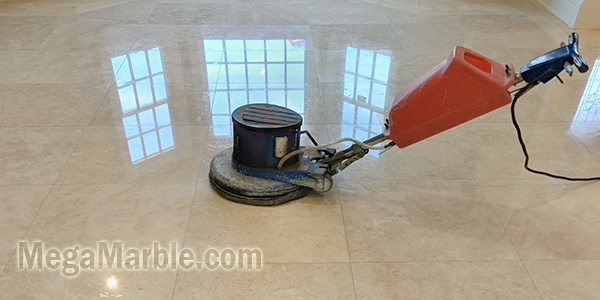 Marble polishing and stone restoration