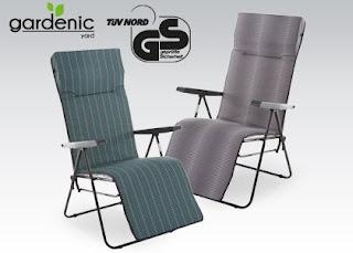 Fotel Relax Gardenic z Biedronki