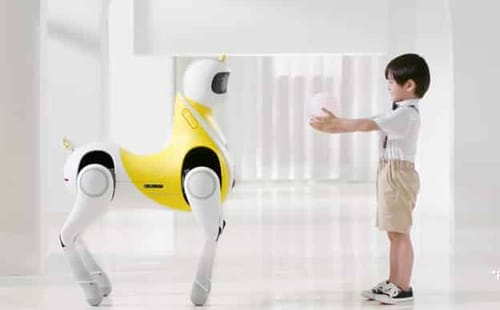 Xpeng wants to make a unicorn robot for kids