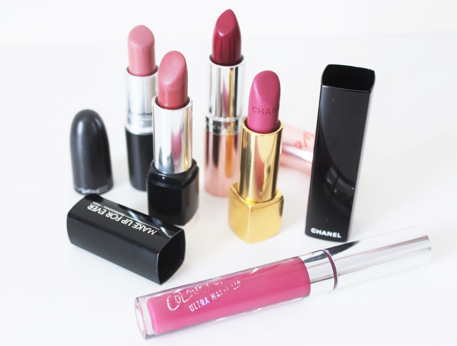 five autumn lipsticks