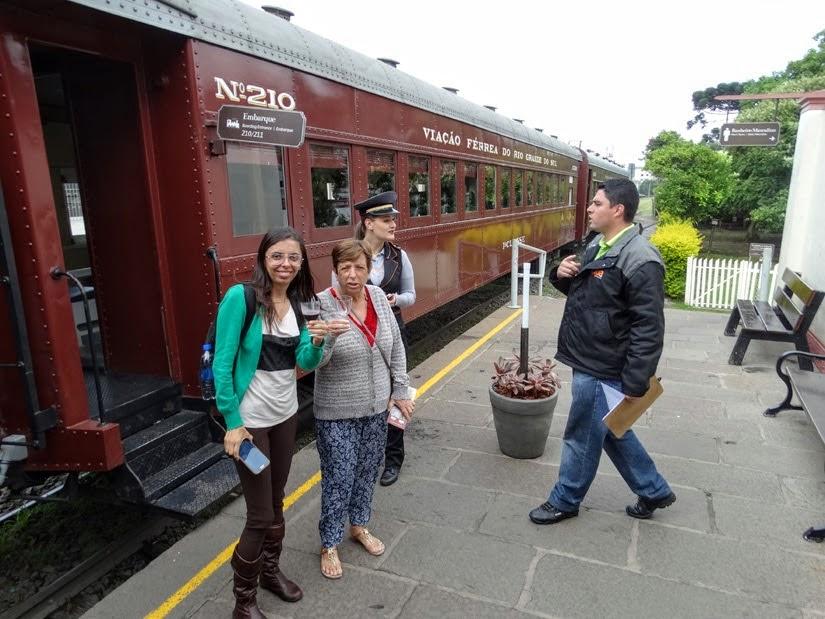 Trem Maria Fumaça Vale dos Vinhedos