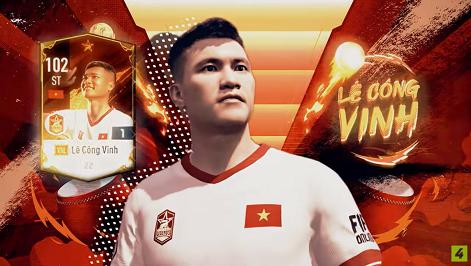 FIFA ONLINE 4 | Soi chỉ số khủng diện mạo mới của Lê Công Vinh Vietnam Legends - Huyền thoại với khoảnh khắc lịch sử
