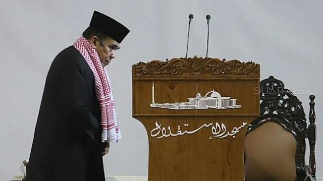 Menag Fachrul Tidak Baca Shalawat Saat Khotbah Jumat di Istiqlal, Ulama NU: Tidak Sah!