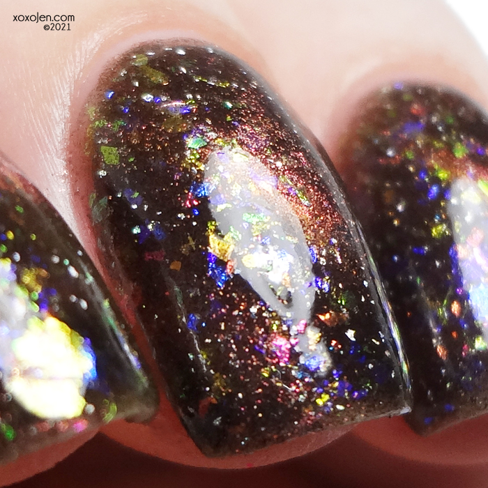 xoxoJen's swatch of LynB Designs: Nebulous for The Charity Box