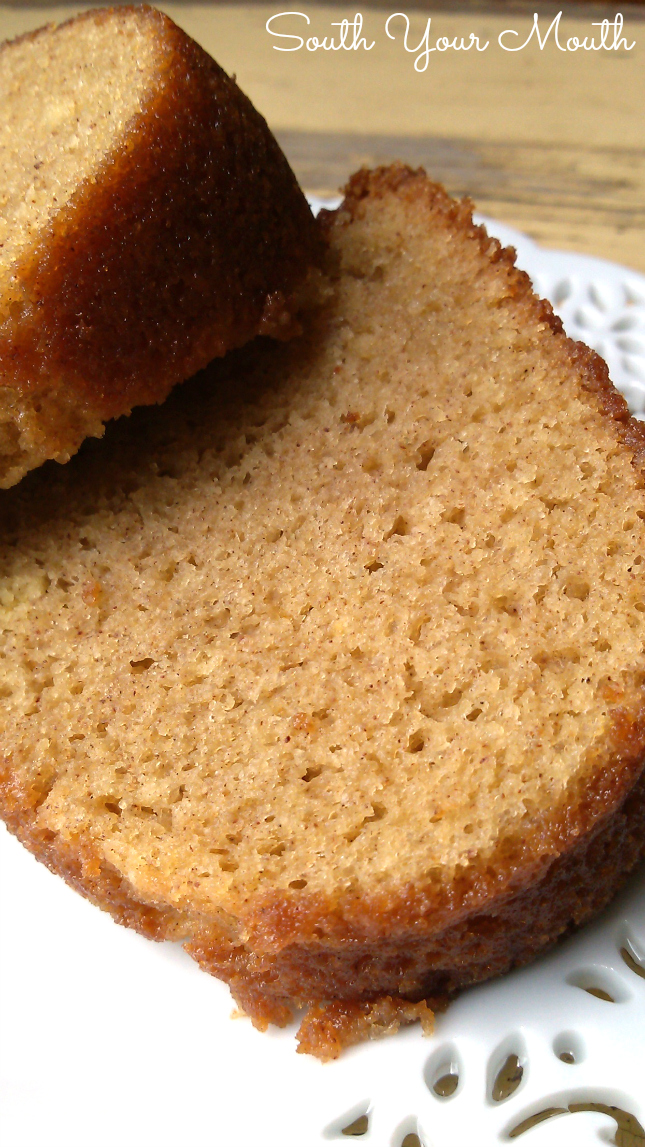 Bundt Cake Made With White Wine
