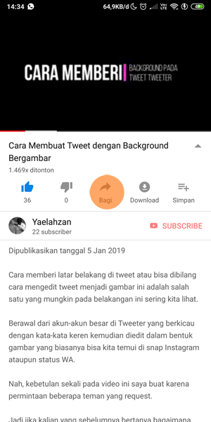 Cara Download Video dari Youtube ke Galeri tanpa Aplikasi