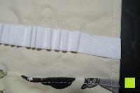 schief: Damero Rollentasche für Gelstift Schreibzubehör gerollter Halter mit Leiwand für Buntstift Reiseorganisator-Beutel für Künstler, Mehrzweck (keine Bleistifte im Lieferumfang enthalten), 48 Löcher, Katzen