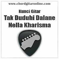 Chord Kunci Gitar Nella Kharisma TAk Duduhi Dalane