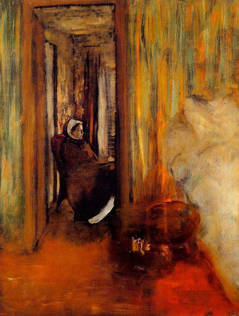 Эдгар Дега - Медсестра (1872-1873)