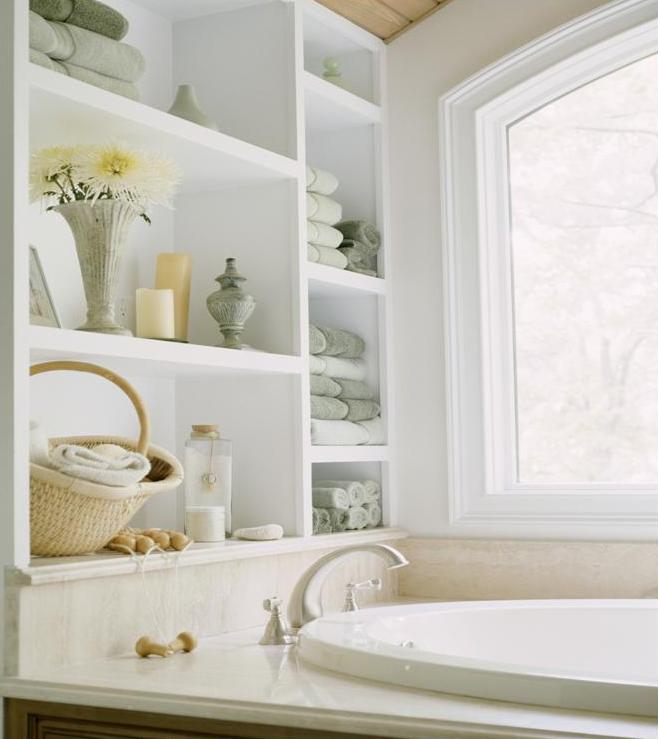 Beauty and the Green Bathroom Makeover Inspiration