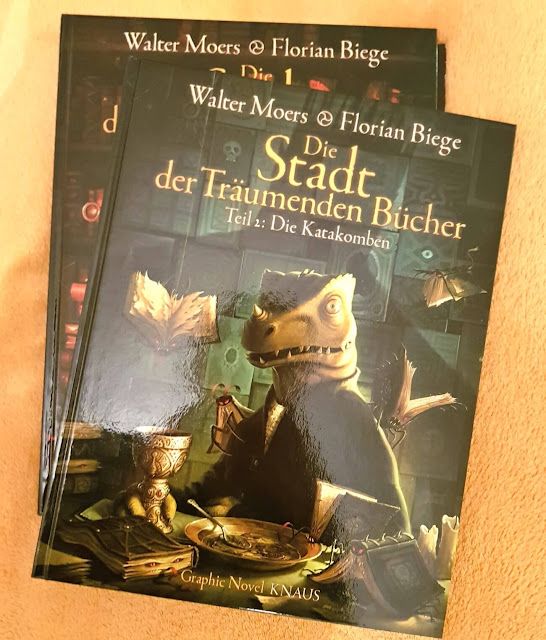 Die Stadt der Träumenden Bücher (Comic) Band 2: Die Katakomben - Walter Moers & Florian Biege