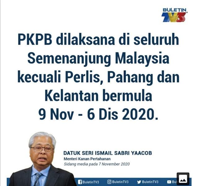 PKPB Kali Ini UJian Berat Buat Semua KIta Rakyat Malaysia
