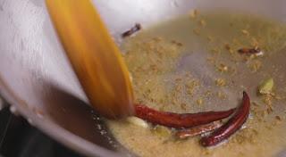 Garam masala Spice temparing