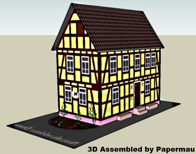 Papermau 09032017 09102017 german house of natural history paper model by naturkundehaus fandeluxe Images