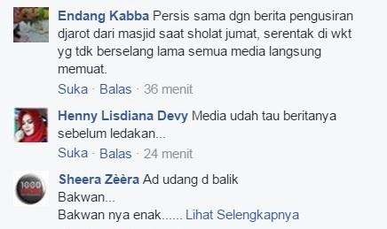 fb9 - Anehnya Bom Kampung Melayu, Cuma 5 Menit Kejadian Media Sudah Wawancara, Nulis Berita, Posting