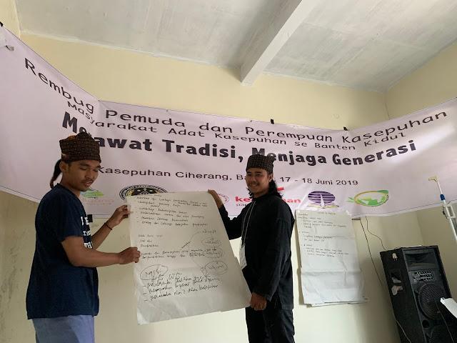 Tingkatkan Partisipasi, Pemuda & Perempuan Kasepuhan Adakan Rembug