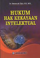 HUKUM HAK KEKAYAAN INTELEKTUAL  Pengarang    :    Dr. Ermansyah Djaja, S.H., M.H.  Penerbit    :    Sinar Grafika