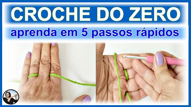 aula de crochê para iniciantes APRENDA CROCHÊ DO ZERO EM 5 PASSOS RÁPIDOS