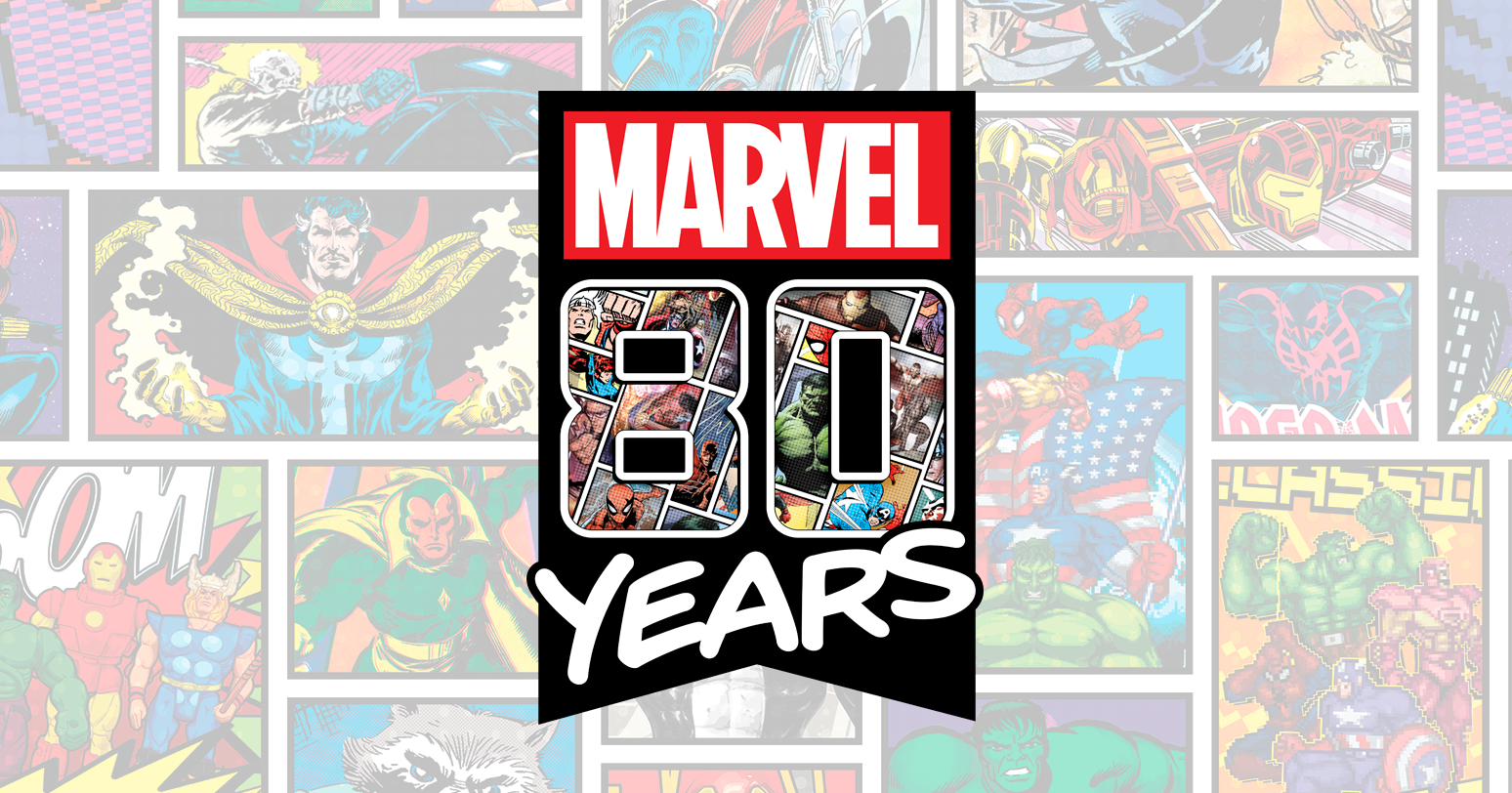 The Blot Says: Marvel Comics 80th Anniversary Screen