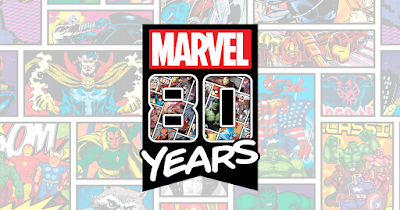 Marvel Comics 80th Anniversary Screen Prints by Grey Matter Art